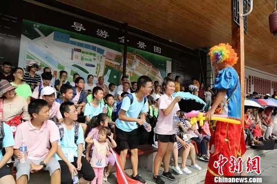 40位海外华裔青少年走进山西皇城相府