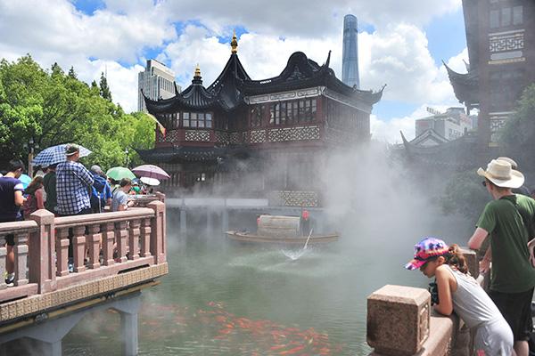 上海再发高温黄色预警,最高气温将达36℃