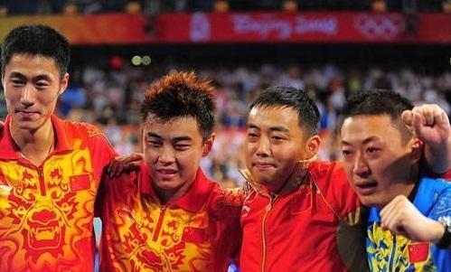 北京奥运男乒十年后:有人当官有人执教 他与乒乓无关