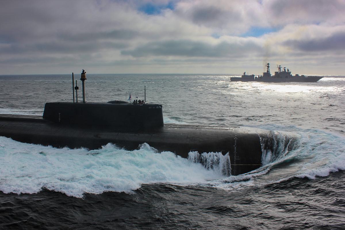 俄核潜艇竟浮出水面被英国媒体吐槽:有毛病!