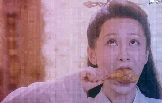 杨紫新剧中被质疑假吃?网友:放大看一目了然!
