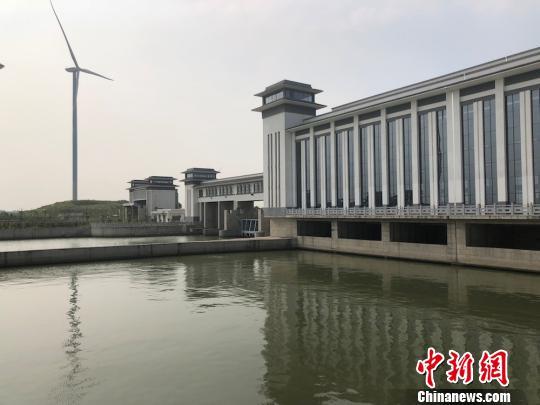 """新沟河江边枢纽:江边""""安全阀""""护一方水域安全"""