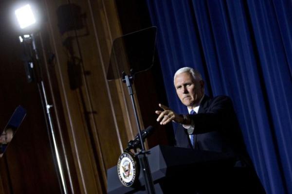 美副总统公布五角大楼太空军建设计划:欲投入80亿美元