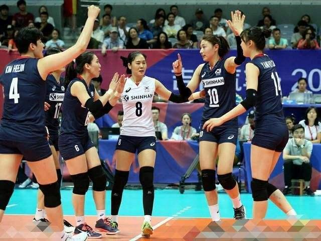 亚运会韩国女排这一主将缺席,中国队夺冠之路难度再缩小