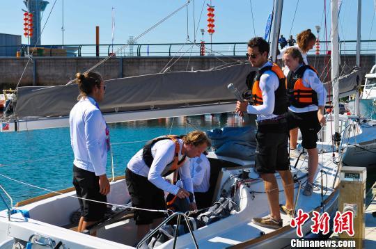 全球知名高校赛队扬帆青岛竞逐2018国际名校帆船赛