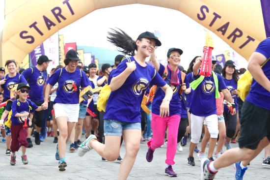 五公里赛道亮点多,一场跑步如何变身亲子嘉年华?