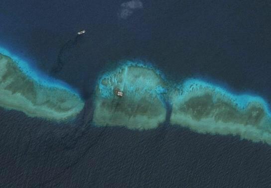 中国南海填海造路工程完工,又添一美丽海岛,不用去国外的普吉岛