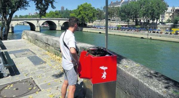 为治理随地小便巴黎塞纳河