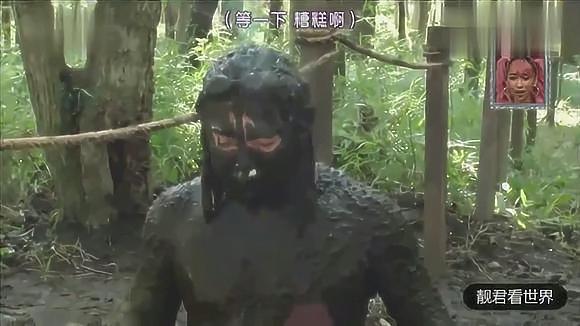 日本整人综艺:藏进泥潭里吓人,看一次笑一次!