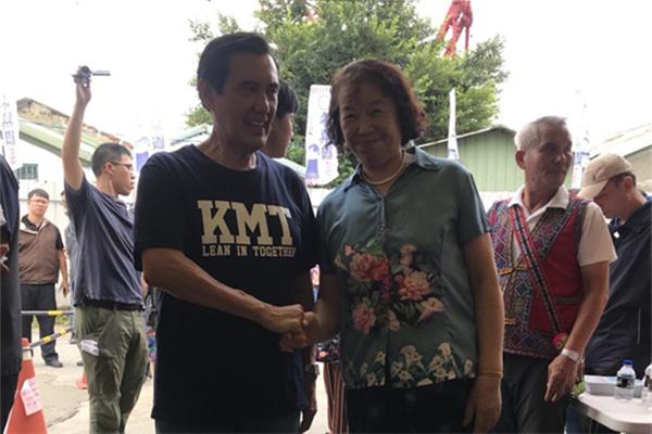 马英九:民进党执政给台湾带来很大冲击与伤害