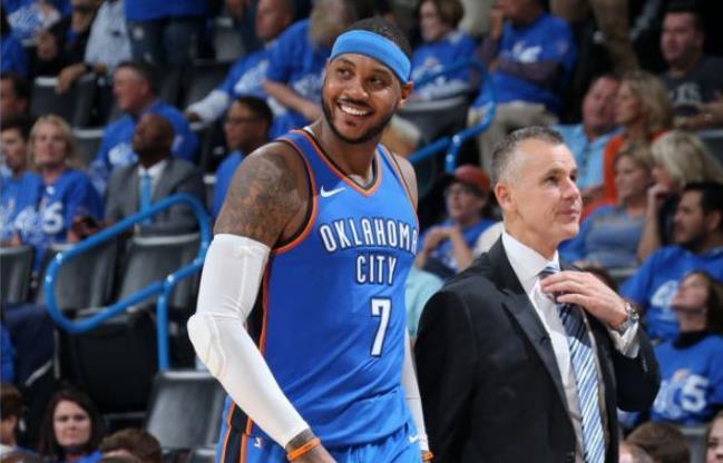 安东尼生涯从没打过替补 NBA史上仅有6人做到
