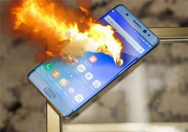 三星Note 7的爆炸示意图 三星CEO称Note 9电池更安全