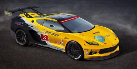 中置发动机版雪佛兰corvette c8.r赛车曝光