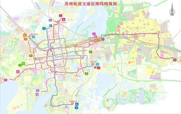 苏州四条轨交正式获批,苏州园林和上海迪士尼未来可地铁往返