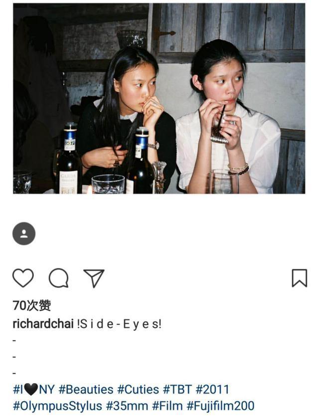 秦舒培奚梦瑶11年前青涩合照曝光,当年18岁的奚梦瑶还不是网红脸