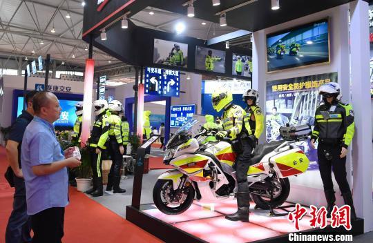 第十届中国国际道路交通安全产品博览会在成都开幕