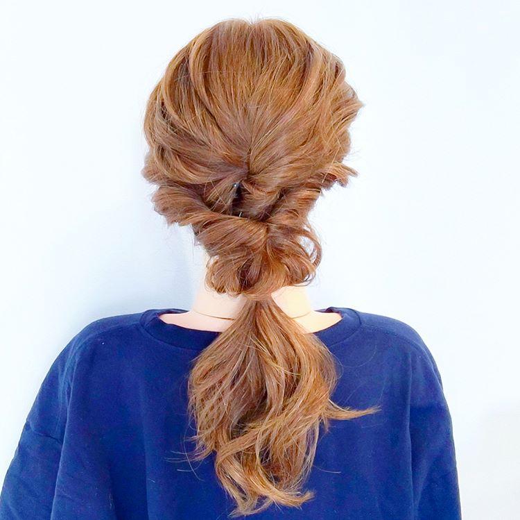 很详细的编发图解,在家也能编出最美的发型
