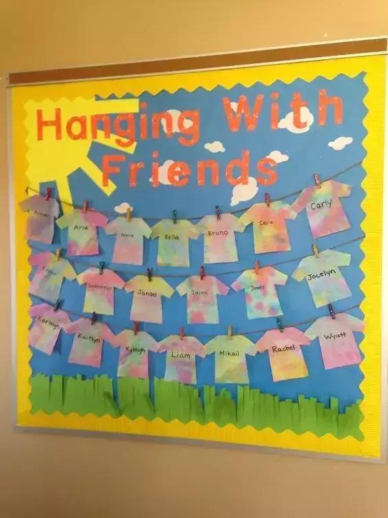 幼儿园开学环创(主题 墙面)设计欣赏