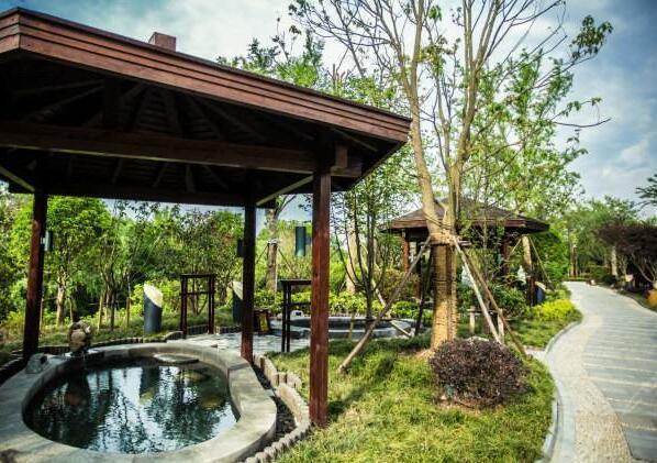 温泉度假村景观设计方案