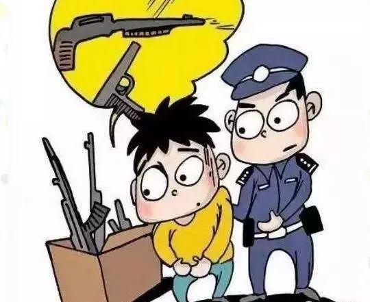 广州警方清查非法枪支爆炸物品:5天收缴子弹千