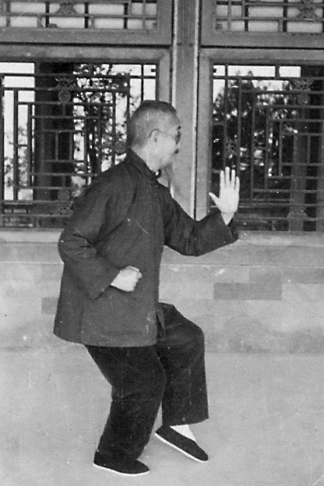 太极拳大师吴图南先生论剑