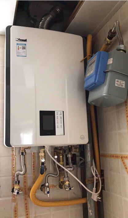 安装燃气热水器需要什么配件图片