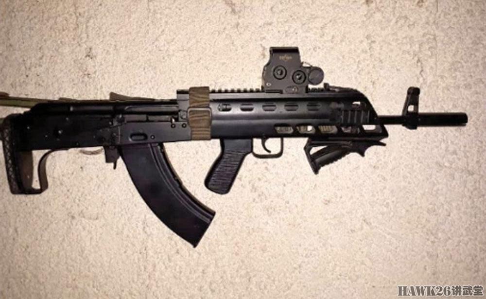 分析:叙利亚战场神秘的无托AK步枪 到底有哪些优缺点