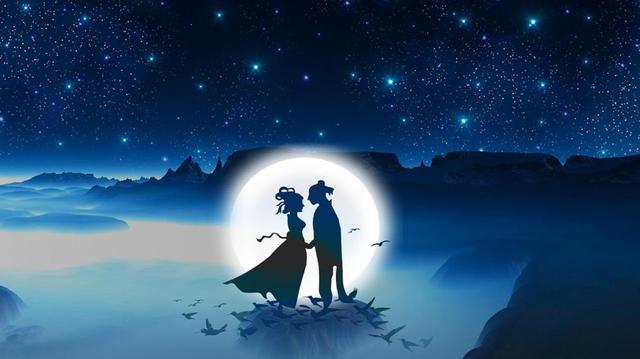 七夕,我给你的爱是漫画的耳朵不见蓝色听图片