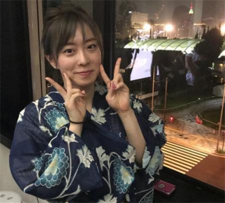 石川佳纯晒和服自拍 和福原爱是中国球迷最喜欢的日本女孩