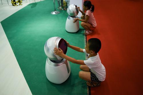 西媒:机器人大会展现中国创新雄心 比欧美发展更快