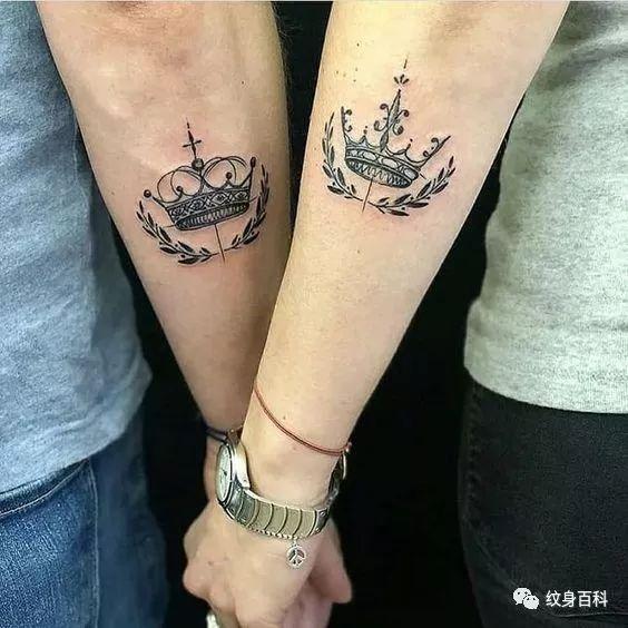 皇冠情侣纹身——七夕特供素材