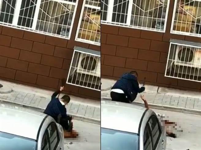 现场视频:26岁男子因邻里纠纷持菜刀砍杀女邻居 曾被打睾丸破裂