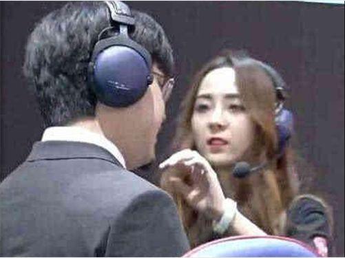 RNG美女竟遭有意,教练美女被指调戏接近Hea囊谦裁判图片
