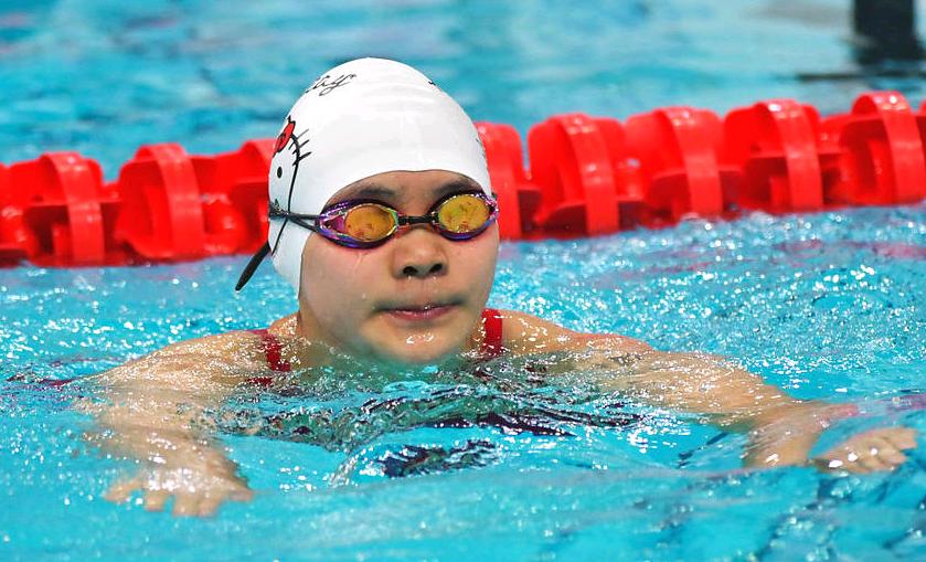 中国13岁泳坛新星冲亚运金牌 去年读小学时拿全国冠军