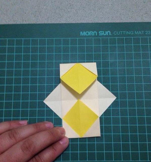 中秋手工折纸灯笼的做法图解教程