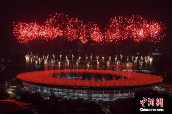 2018雅加达亚运会开幕 亚洲体育进入印尼时间