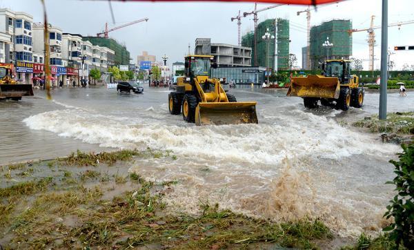 河南遭强降雨,京九线遇水害致北京两火车站7趟列车停运
