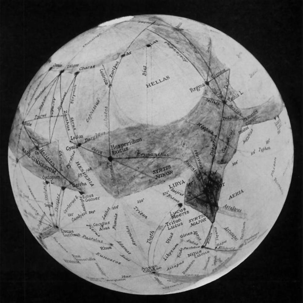 63年的火星地图变迁史
