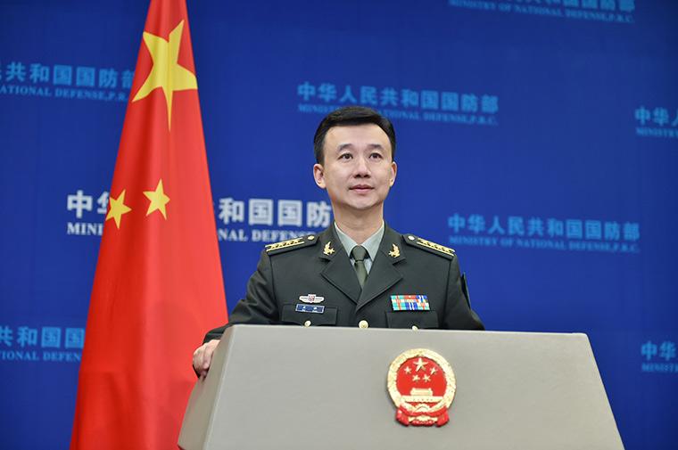 美报告渲染中国在为台海冲突作军事准备 国防部:纯属臆测