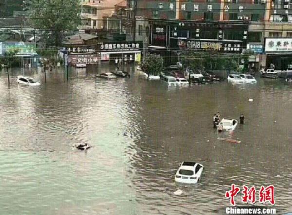 河南汛情|商丘降水量破历史极值,郑州机场96个航班取消