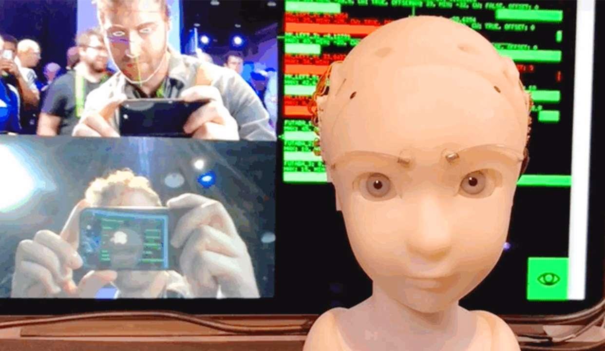 日本机器人新进展,这表情,这眼神,太逼真了
