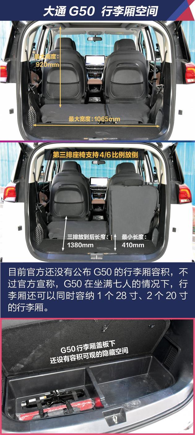 抢先试驾上汽大通G50 个性定制/5种座椅布局