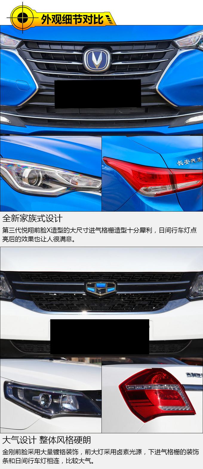 5万块买代步好车 长安全新悦翔/吉利金刚如何选-图2