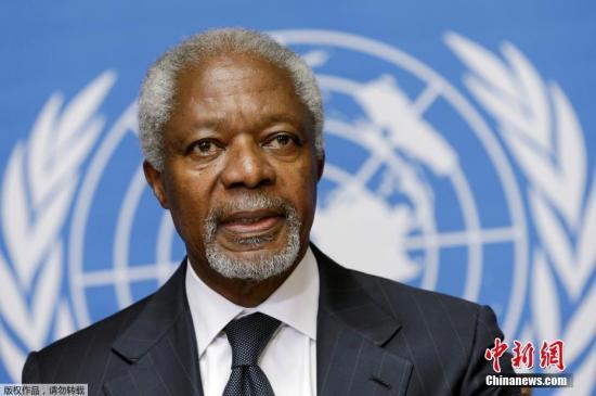安南于1962年进入联合国系统工作,担任设在日内瓦的世界卫生组织的行政和预算干事。被任命为秘书长之前,曾任主管维持和平行动助理秘书长(1993年3月至1994年2月),后来改任副秘书长(1994年2月至1995年10月;1996年4月至1996年12月)。(资料图)