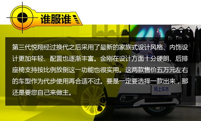 5万块买代步好车 长安全新悦翔/吉利金刚如何选-图1