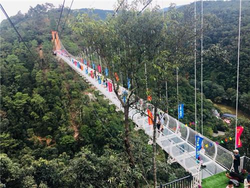 在昆明也能走高达百米的网红玻璃吊桥,地点在