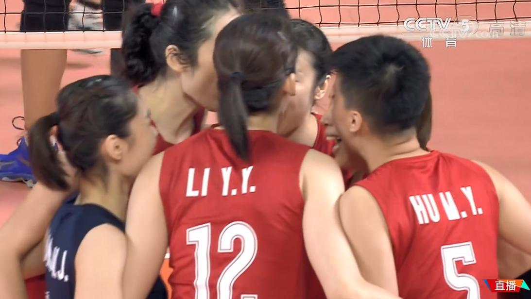 朱婷迎来亚运历史首秀!中国女排完胜 大将临时驰援先休息