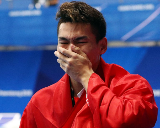 8月20日亚运早报:孙杨要求重新升国旗,中国男足逆天进球