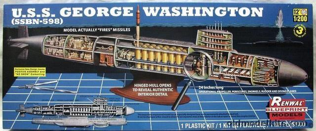 1.9美元启发中国核潜艇研制 美军被模型公司气死