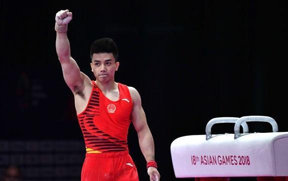 第15金!林超攀获得体操男子个人全能金牌